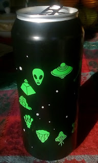 Zodiak beer can front