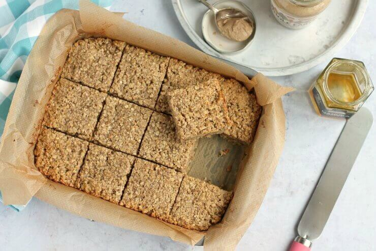 Banana & Peanut Butter Flapjacks