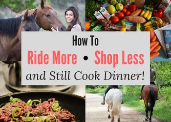 How To Ride More, Shop Less & Still Cook Dinner
