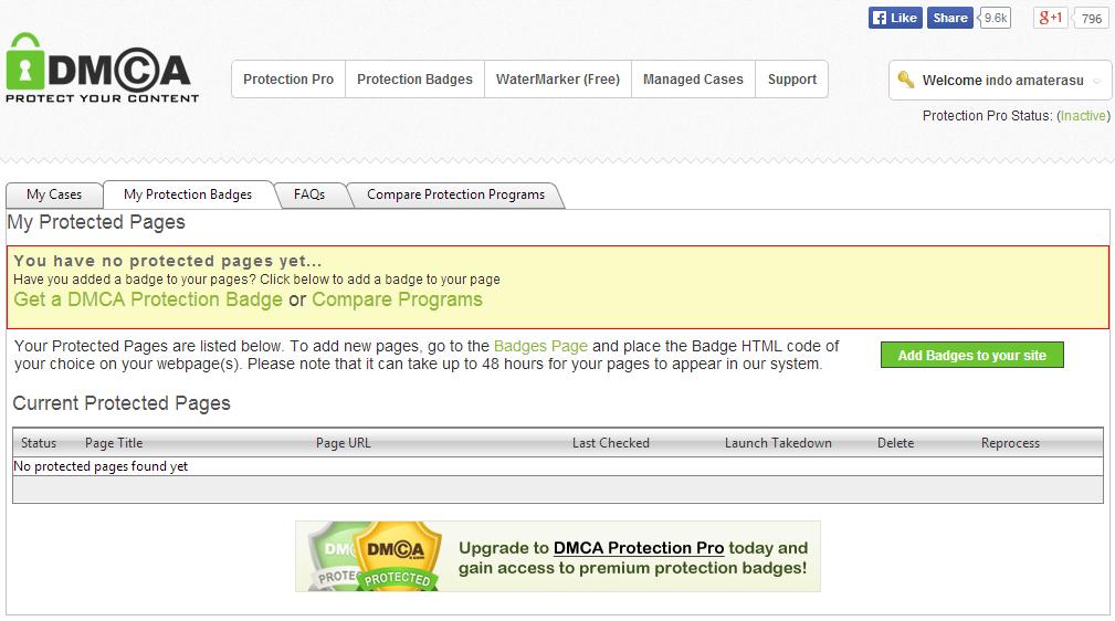 DCMA - Lindungi Konten Situs Dengan DCMA 4