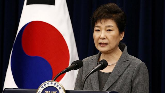 La presidenta Corea del Sur pone su cargo a disposición del Parlamento
