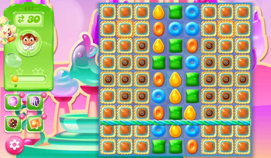 Candy Crush Jelly Saga 287
