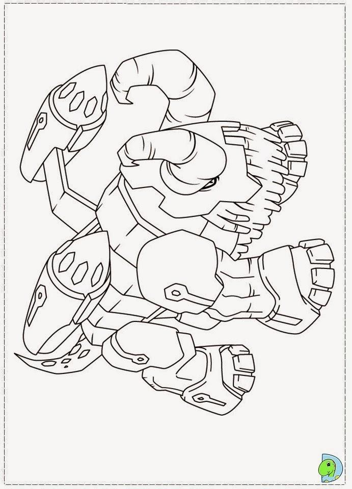 dinokids  desenhos para colorir desenhos de gormiti para