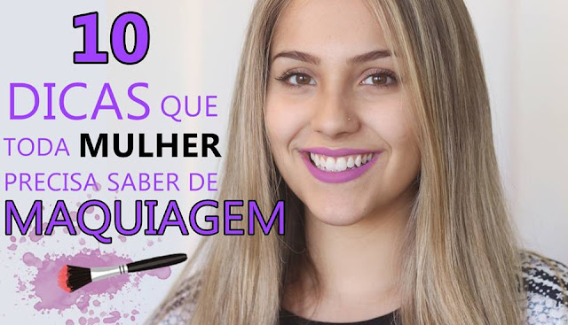 10 truques de maquiagem que toda mulher precisa saber por Gabriela Capone - Portal Mulher de Atitude