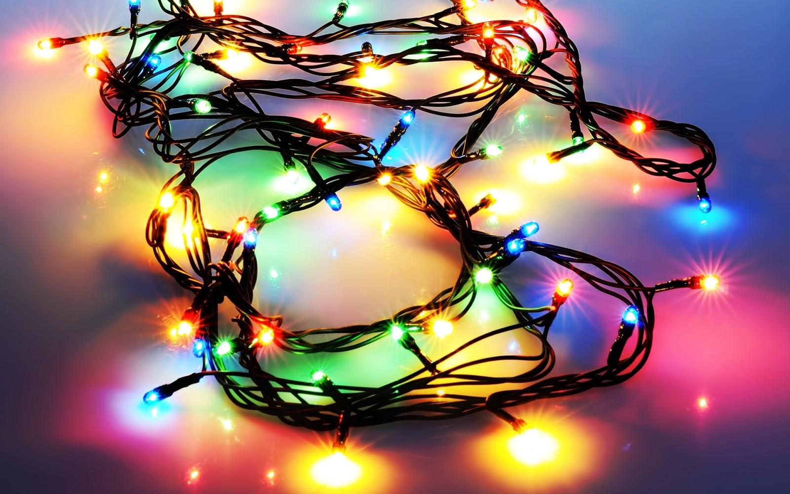 christmas lights wallpaper - Amber Christmas Lights