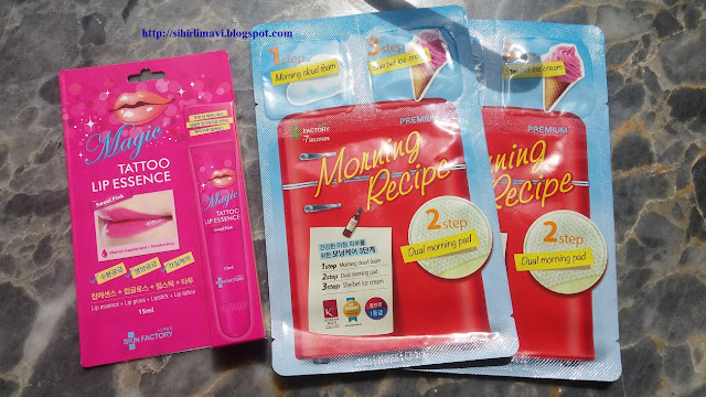 skin factory, skin factory korea, cilt bakımı, maske, blog, blogger, magic tattoo lip essence, sihirlimavi, premium sheetmask