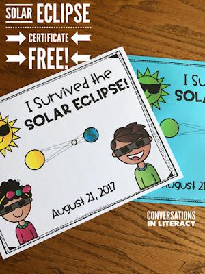 Solar Eclipse Certificate