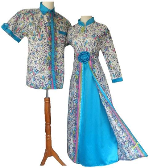 Model Baju Kombinasi Batik: 50 Gambar Model Baju Batik Gamis Kombinasi Terbaru
