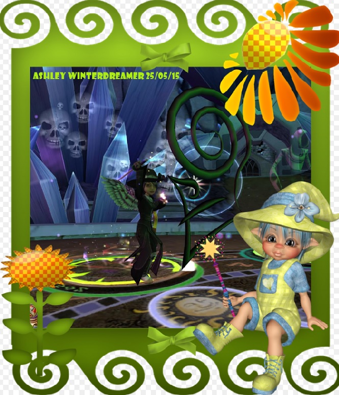 Paige's Page: Fun with Frames - Wizard101 Winners