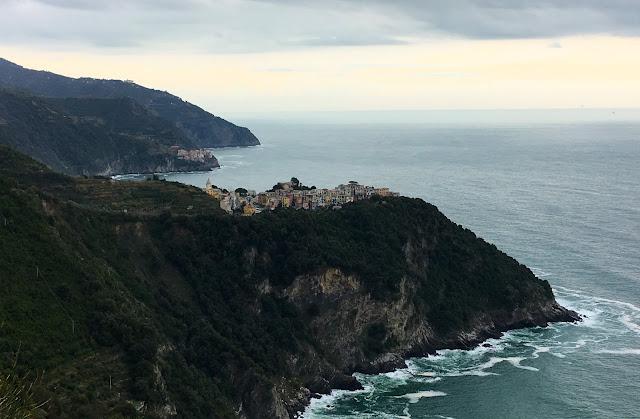 Village de Corniglia, Cinque terre, Italie