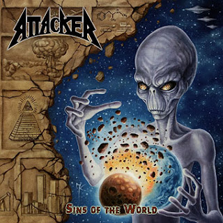"Το lyric video των Attacker για το ""World Destroyer"" από το album ""Sins of the World"""