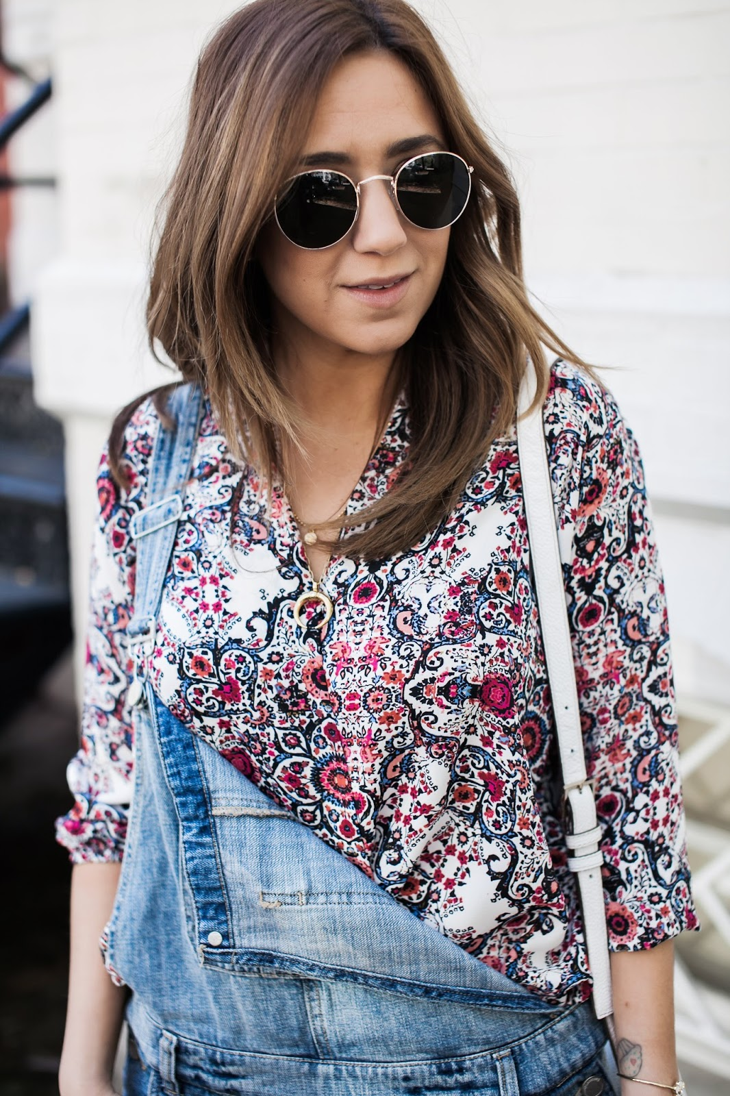 denim, overalls, shorts, blank nyc, floral blouse, spring, outfit, dc blogger, blog, style, fashion, inspiration