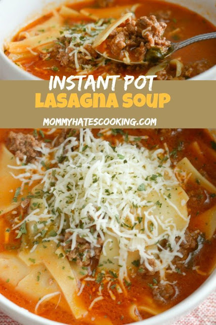 instant pot lasagna soup recipe
