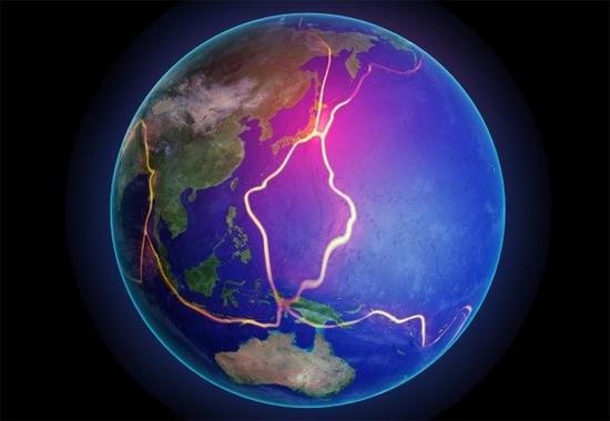 Divisão dos continentes