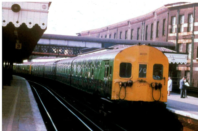 On one particular day in the 1950's early 1960's, I witnessed a strange-looking train at Waterloo East station.  A brief encounter that created a 40-year mystery.
