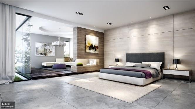 Ide + Gambar Desain Kamar Tidur Minimalis Rancangan Interior Terbaru