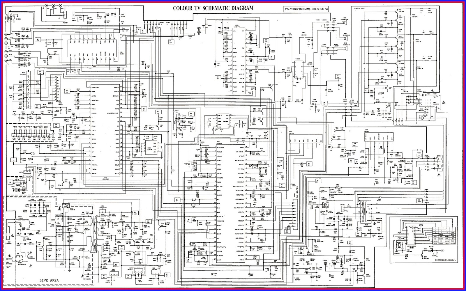 Lg Tv Circuit Diagram Great Design Of Wiring Crt Ireleast Readingrat Net Schematic
