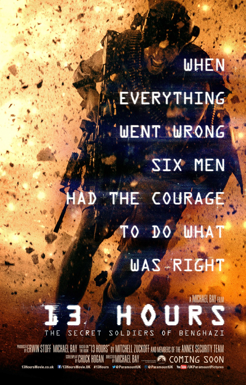 Nonton Film 13 Hours The Secret Soldiers of Benghazi (2016)