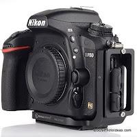 Custom L Bracket for Nikon D750 DSLR from Sunwayfoto