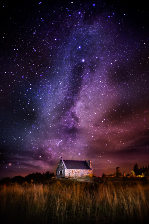 The Milky Way here on the South Island of New Zealand