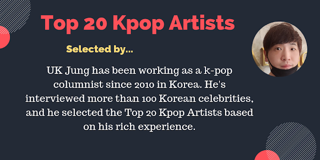 top 20 kpop artists