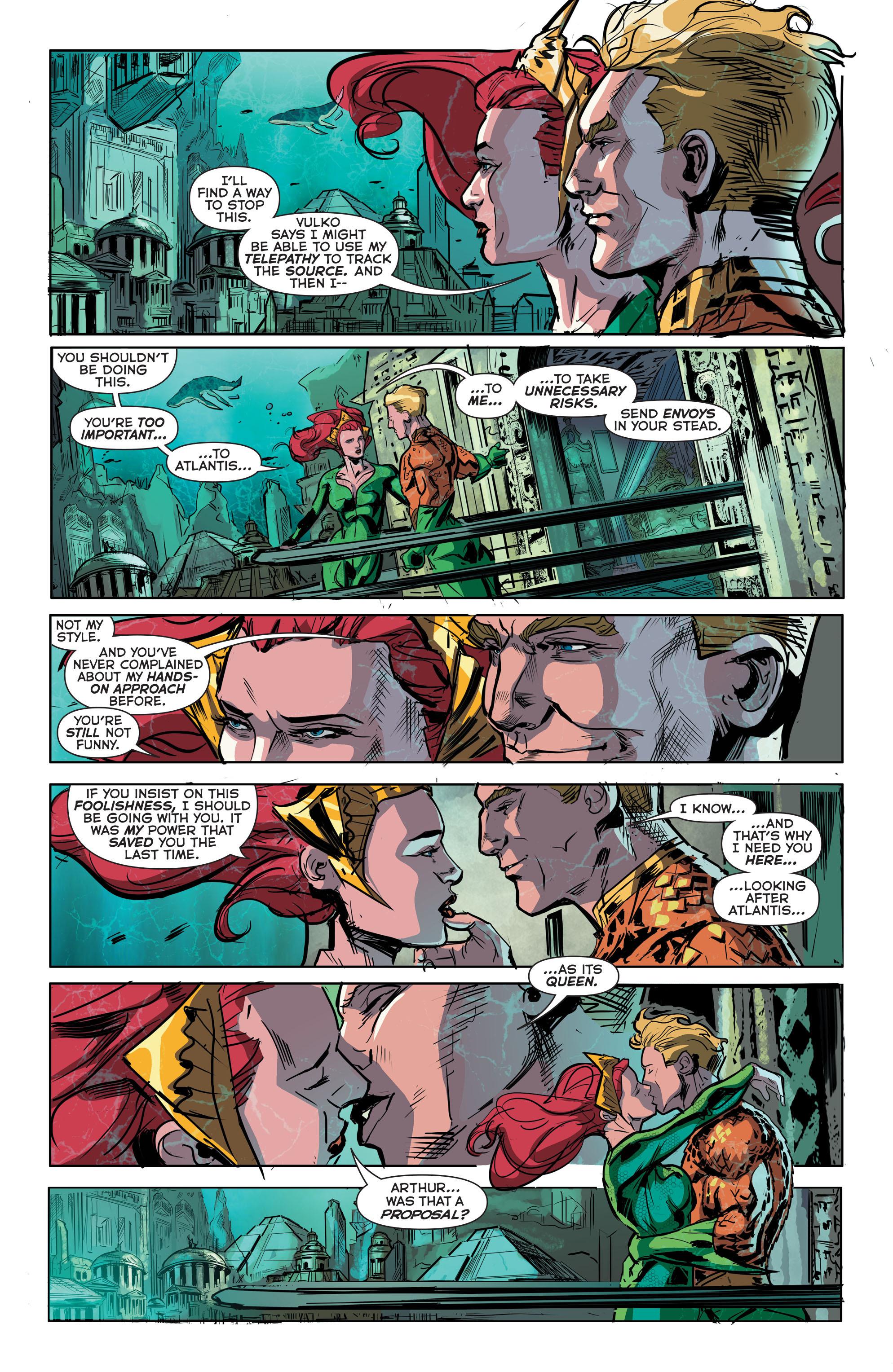 Read online Aquaman (2011) comic -  Issue #41 - 20