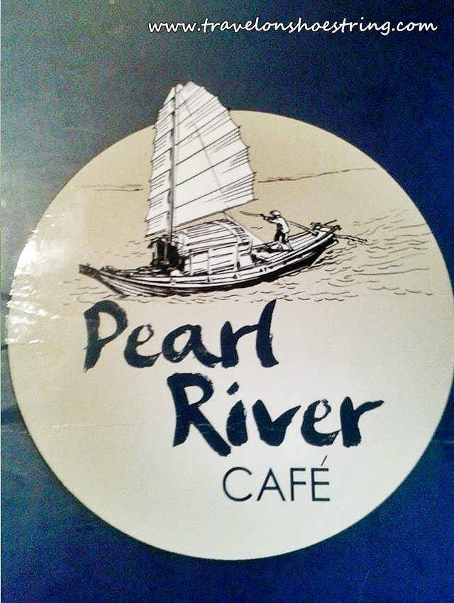Pearl River Café Trinoma, Chinese Food, Taiwan Jin Xuan Buttermilk Oolong Tea