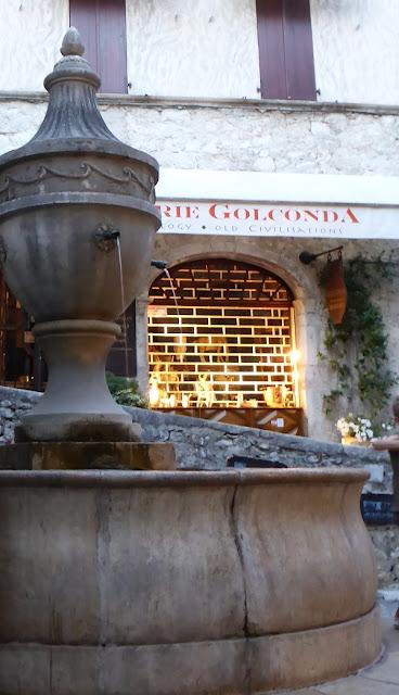 St Paul de Vence, gran fuente