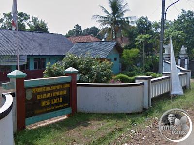 Desa Kosar, Kecamatan Cipeundeuy