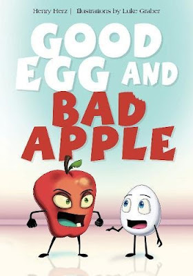Good Egg and Bad Apple #GoodEggAndBadApple #NetGalley #ChildrensLit #SchifferKids