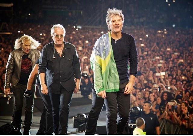5 motivos para não deixar de ver o show do Bon Jovi em São Paulo