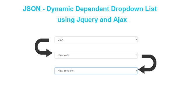 JSON - Dynamic Dependent Select Box using Jquery and Ajax