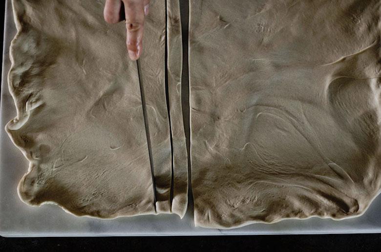 Handsmashed noodle