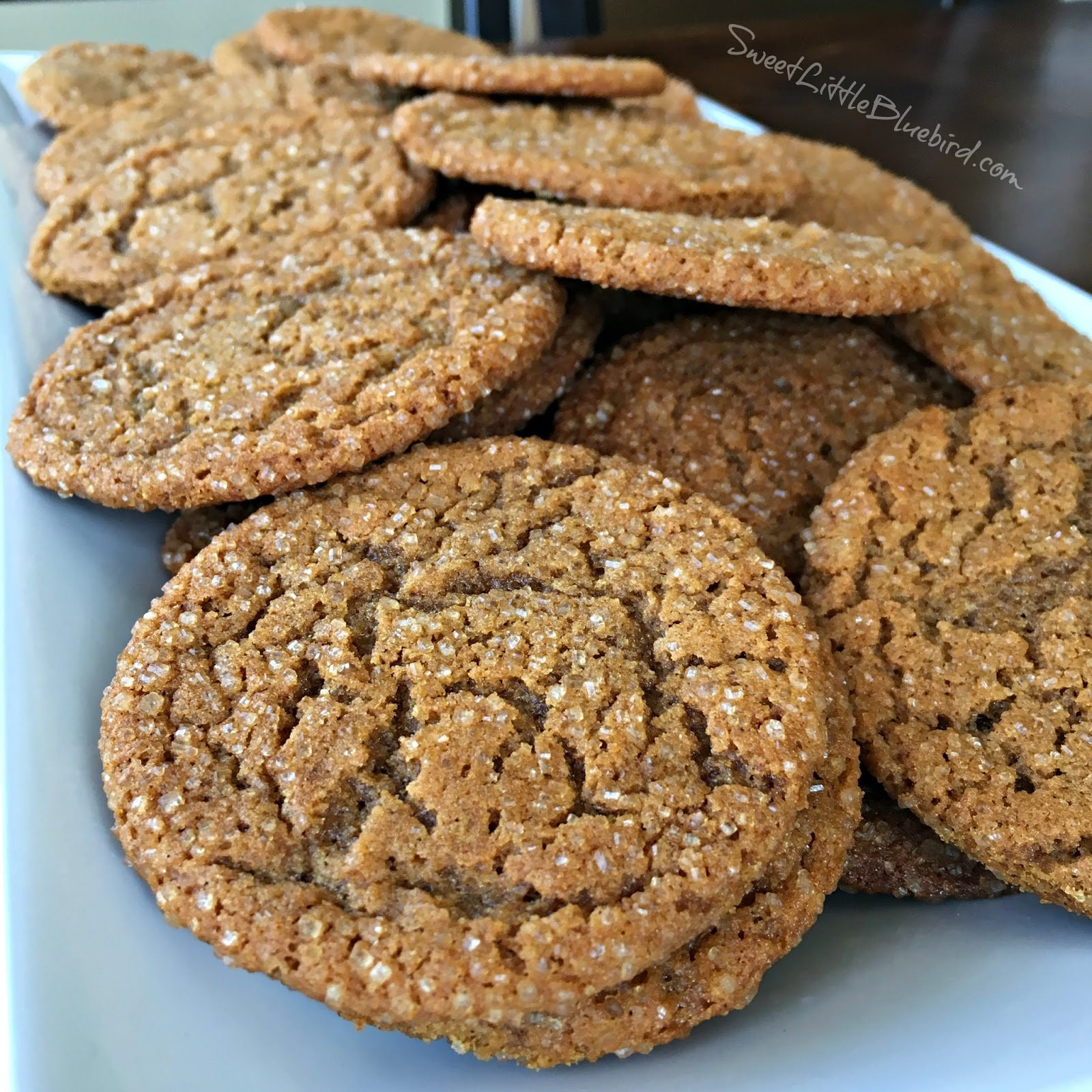 Old Fashioned Molasses Sugar Cookies Archives Sweet Little Bluebird