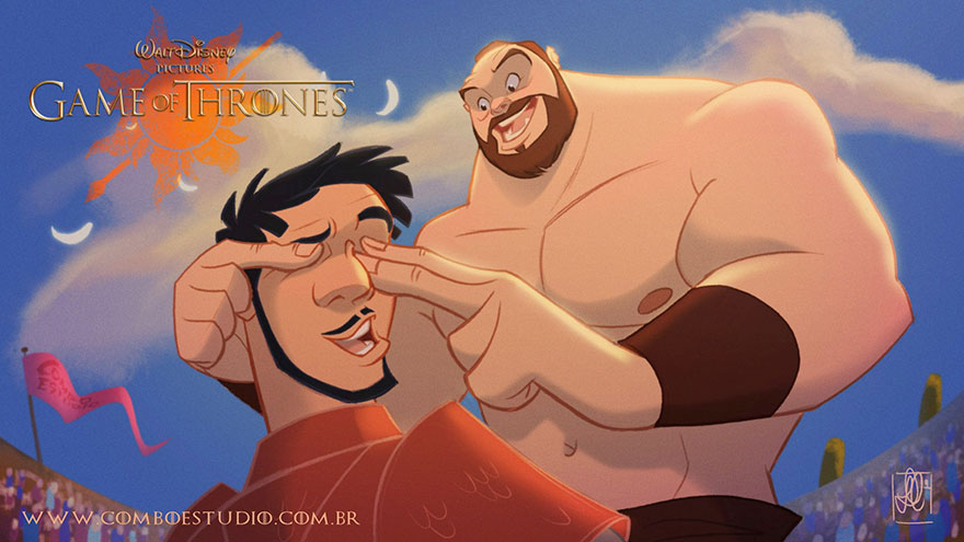 This Is What Game Of Thrones Characters Would Look Like If Disney Made Them