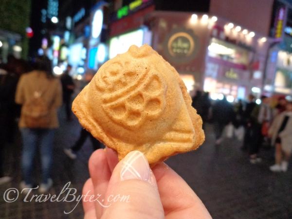 Bungeo-ppang (red bean fish toast)