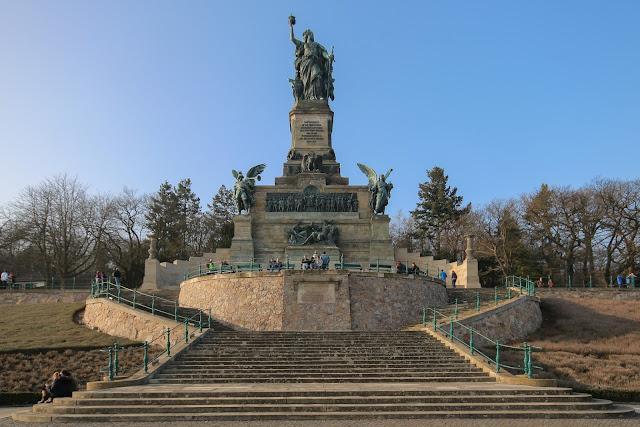 monumento Niederwald, Rüdesheim am Rhein