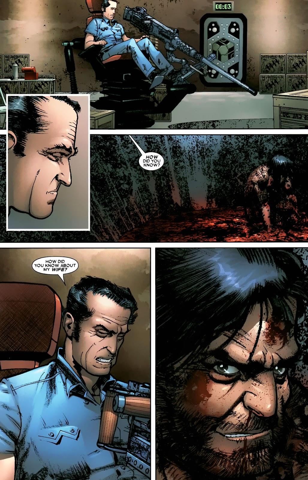 Read online Wolverine (2003) comic -  Issue #56 - 15