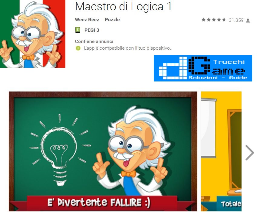 Soluzioni Maestro di Logica livello 1 2 3 4 5 6 7 8 9 10 | Trucchi e  Walkthrough level