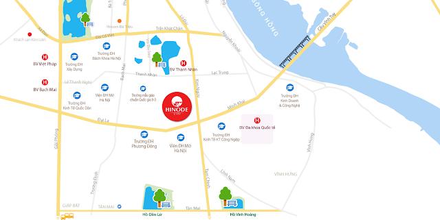 Dự án chung cư Hinode City 201 Minh Khai