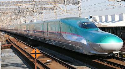 trem-bala de Tóquio a Hokkaido