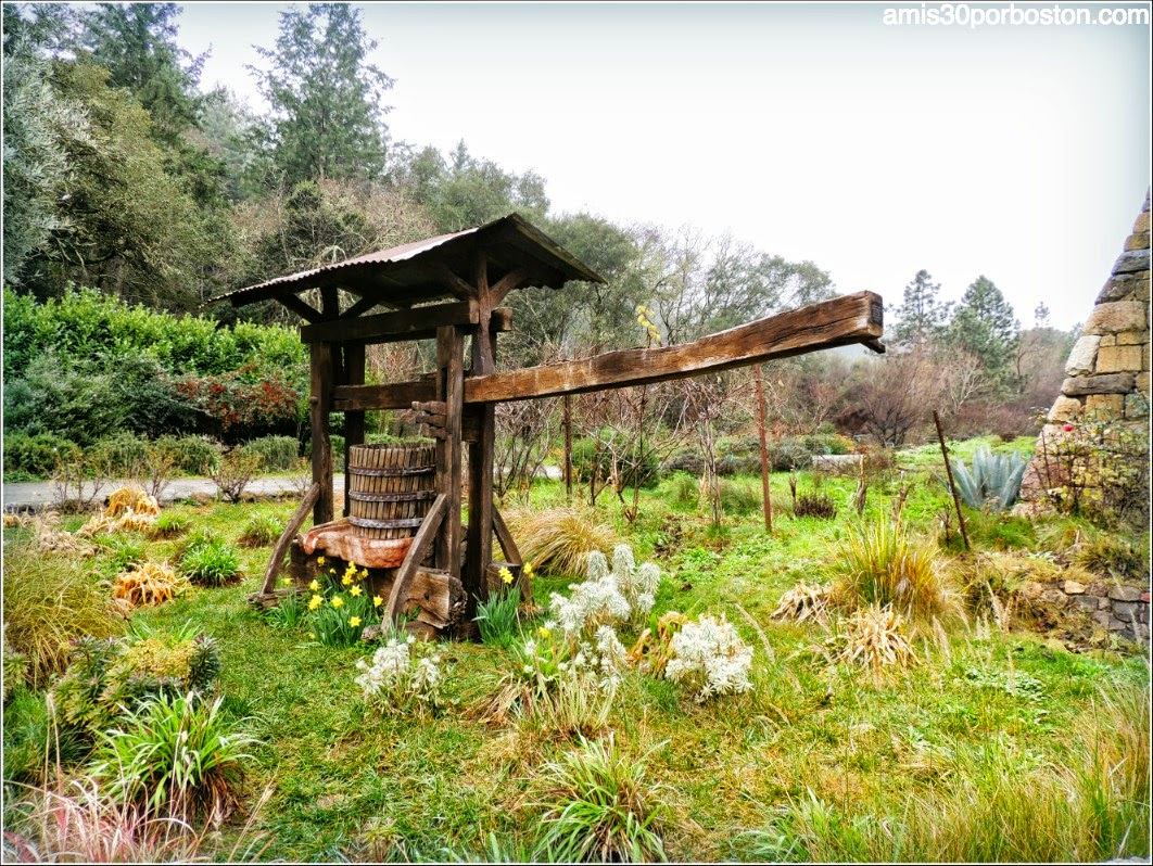 Ruta por las Bodegas del Valle de Napa: Detalles del Castello di Amorosa