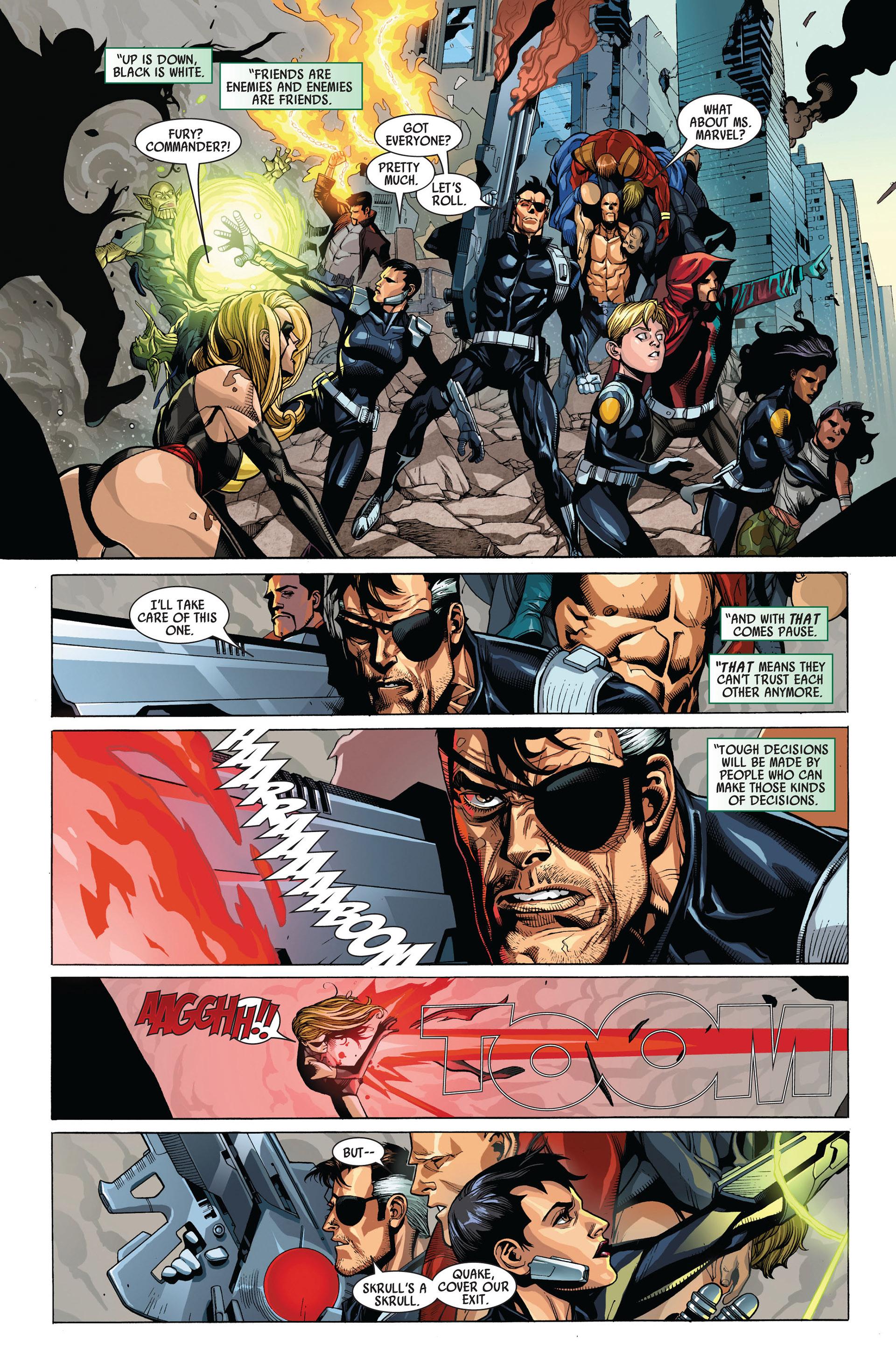 Read online Secret Invasion comic -  Issue #4 - 9