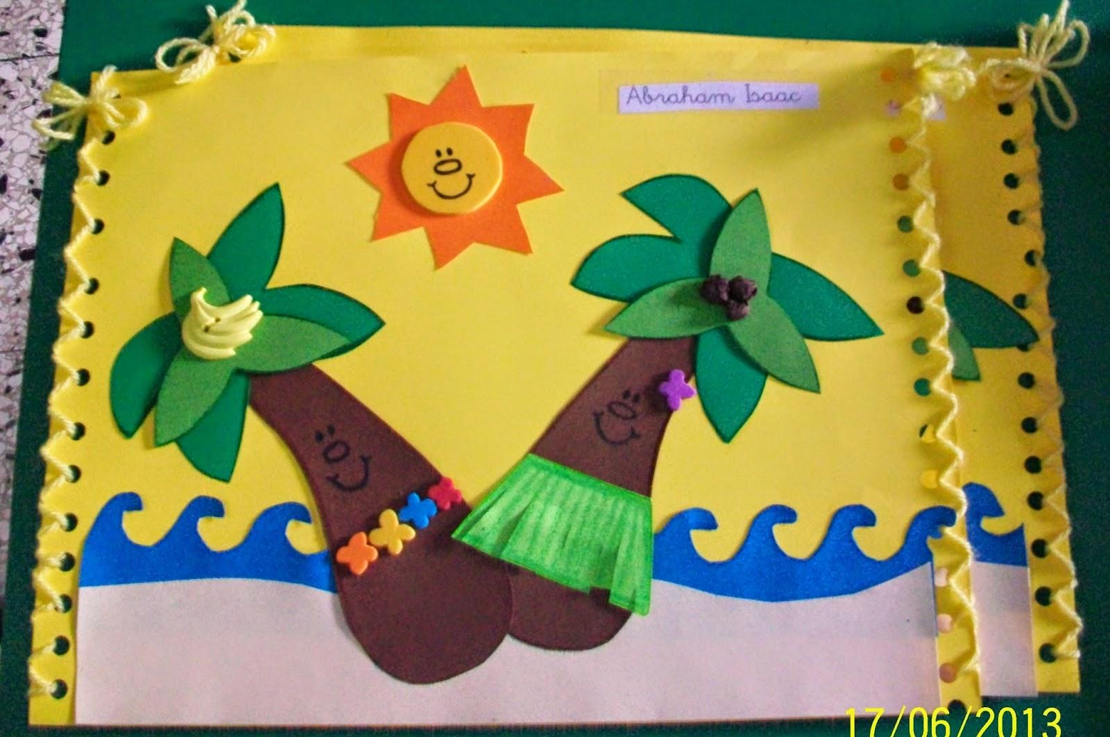 Manualidades Carpetas Escolares Decoradas Guia De Educacion Infantil