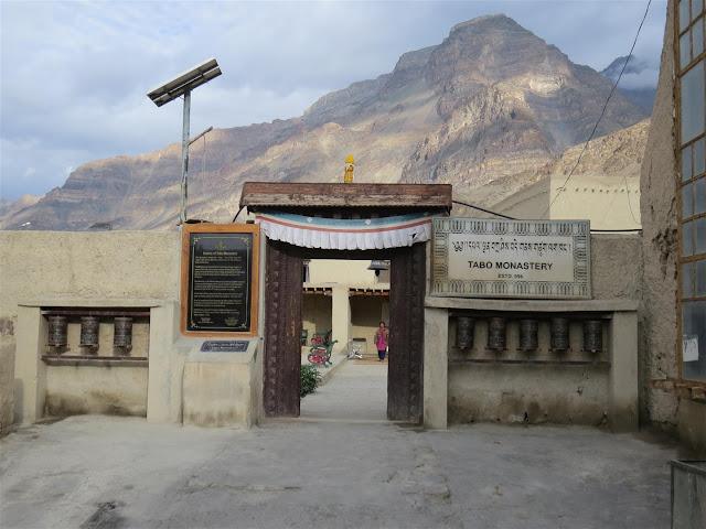 Tabo Monastery Entrance