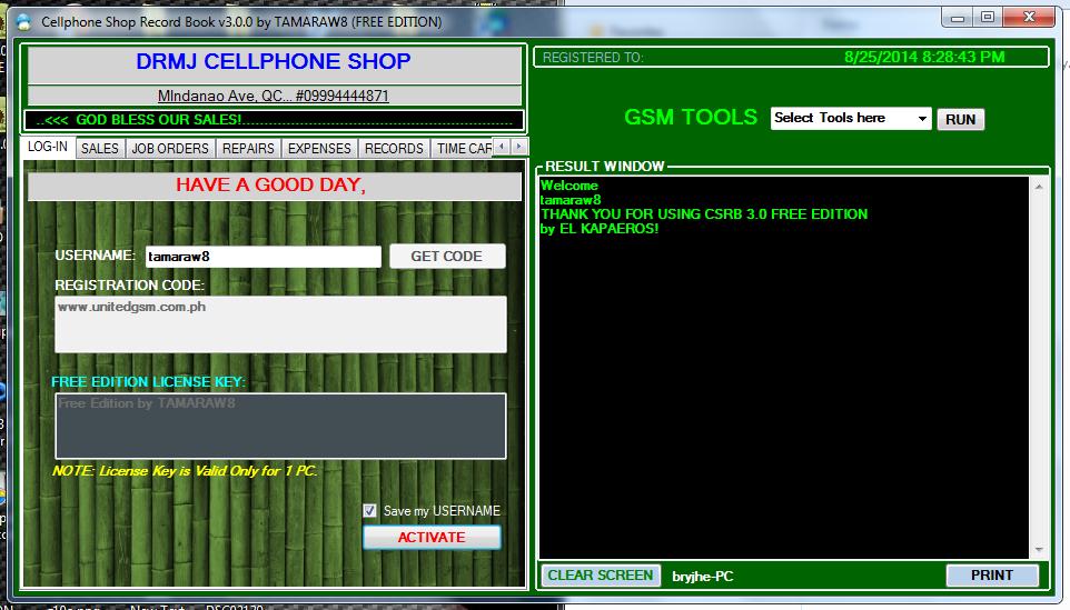 Cellphone Technician Record Book 3.0
