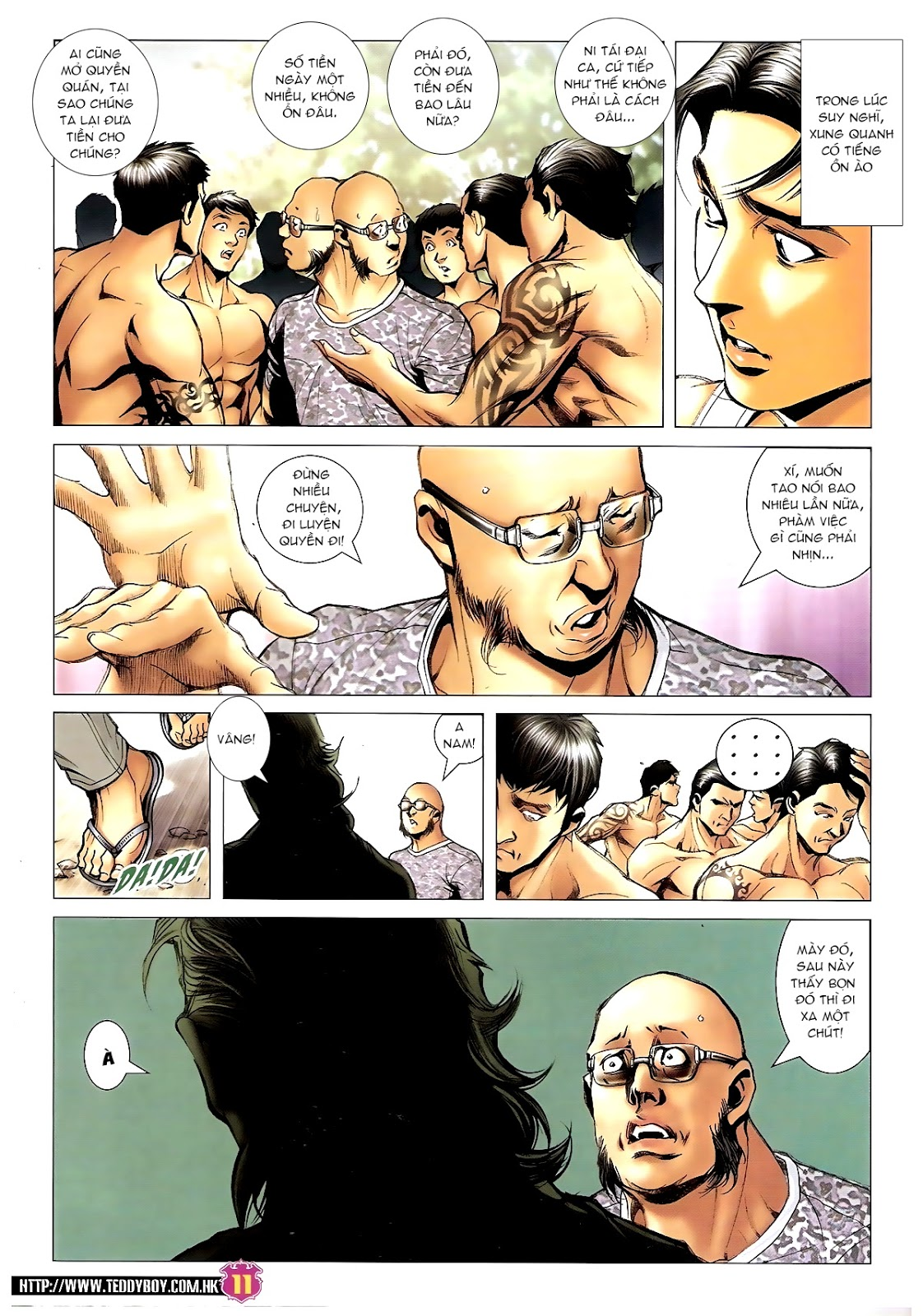 Người Trong Giang Hồ - Chapter 1392: Hắc Thế Lực Lào - Pic 10