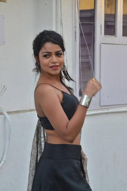 Bhavya sri south actress navel and armpit images