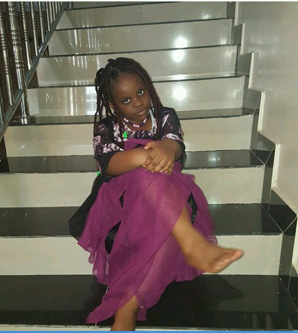 Mr. Ibu shares adorable photos of his wife and daughter