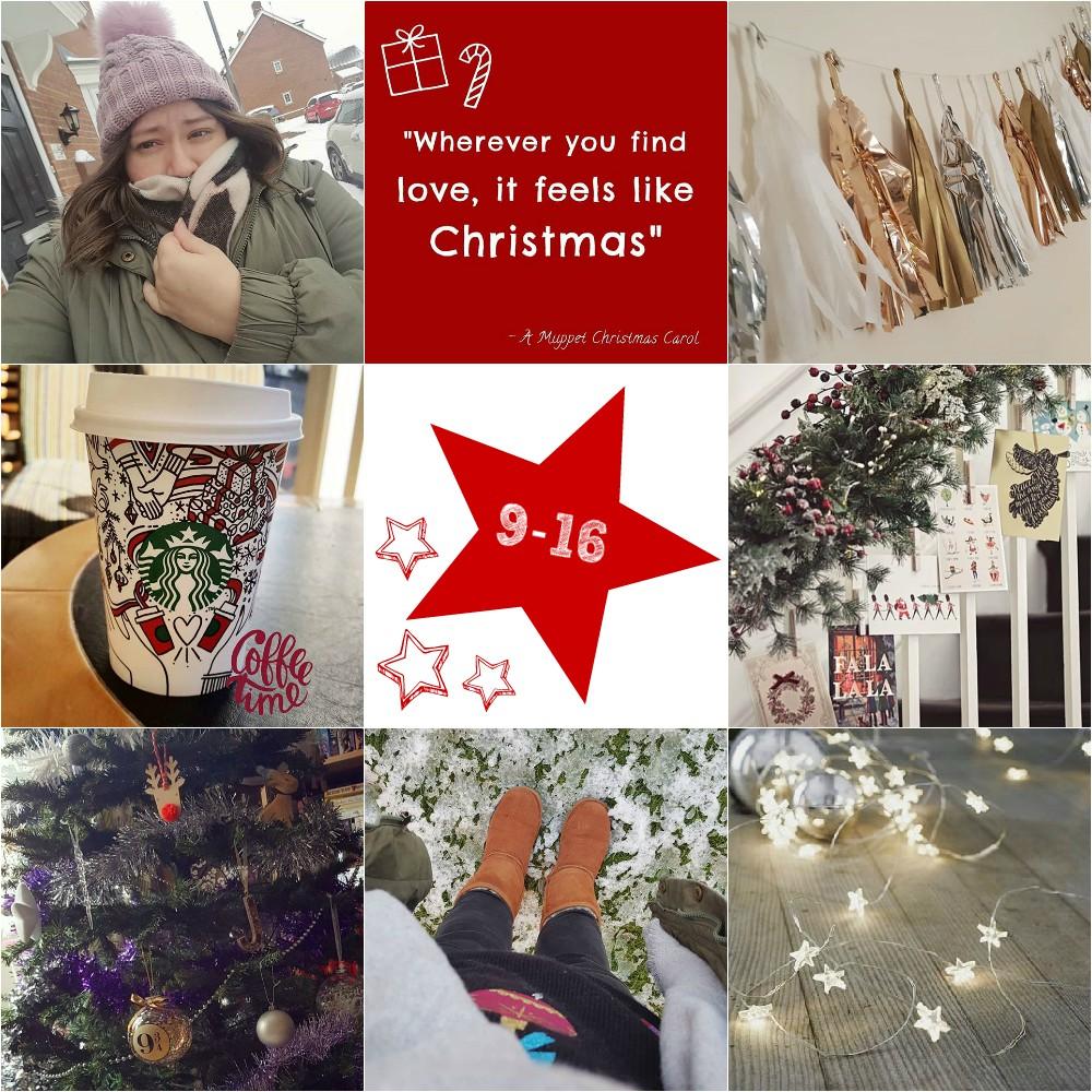 #25daysofchristmas - Days 9-16
